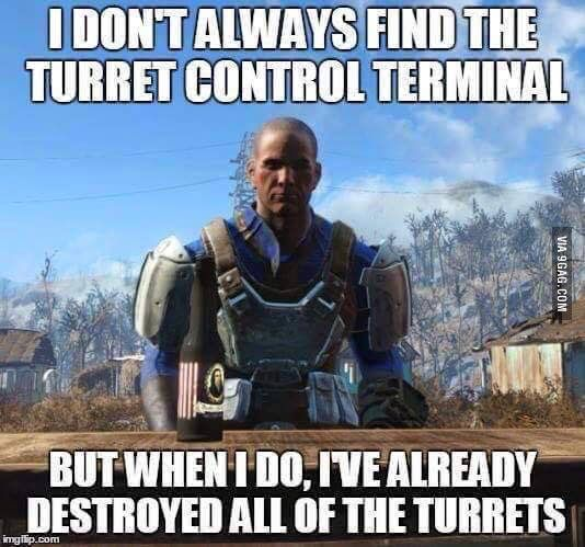 Or when you pick a lock on a safe then find the computer terminal two feet away that unlocks it -__- wasted a damn bobby pin...