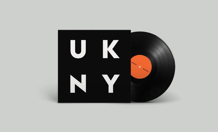 UKNY Music Events Branding. Designed by White Bear Studio.