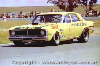 72041 - Ian Pete Geoghegan - Super Falcon - Calder 1972 - AUTOPICS