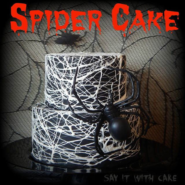 how to make a spider out of fondant