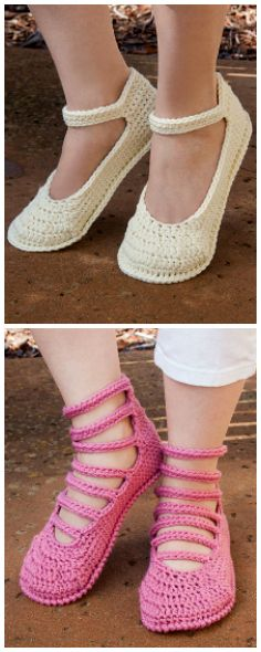 Summer Slippers Crochet Pattern, NEW from #AnniesSignatureDesigns. Order now: https://www.anniescatalog.com/detail.html?prod_id=131710&cat_id=468.