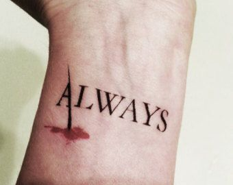 "Castle TV Show "" Always "" tattoo. Nathan Fillion - Richard Castle fan"