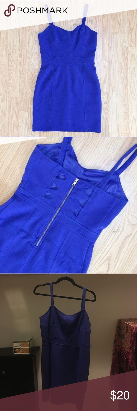SALE Sparkle & Fade Cobalt Bodycon Dress SALESparkle & Fade Cobalt Bodycon Dress Gorgeous bright blue dress with subtle back Urban Outfitters Dresses Mini