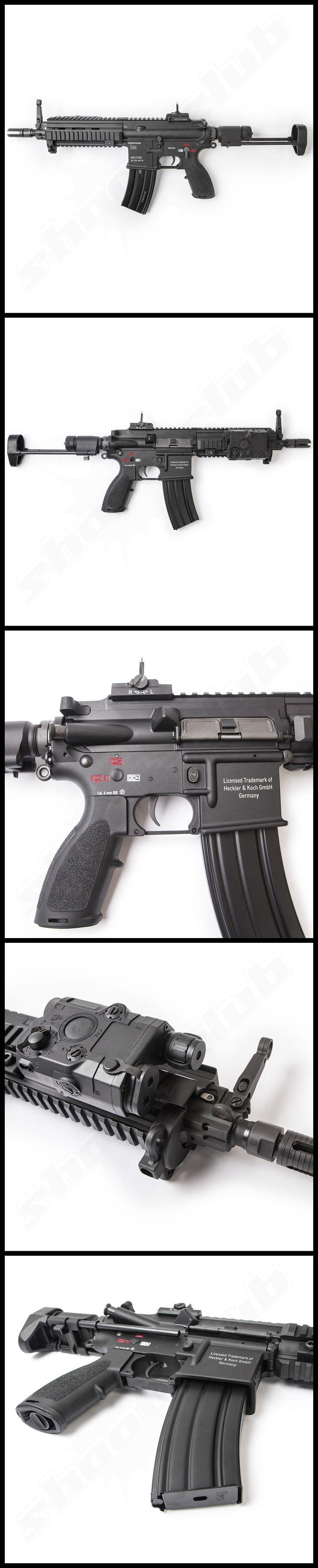 VFC Heckler und Koch HK416 C Next Gen. mit Mosfet SAEG Softair Gewehr LiPo Redy   #shootclub #airsoft #softair