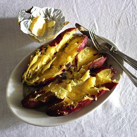 Baked Sweet Potato & Echire Butter
