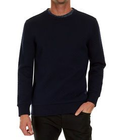 Burleigh Quilted Crew