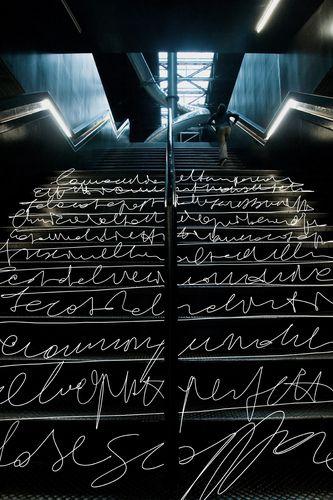 Tate Modern Gallery, Bankside, London designed by Herzog & de Meuron :: installation by  Max Tomasinelli
