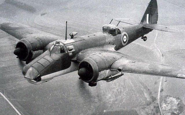 Bristol Blenheim V  This type was used by RAAF 459 Squadron  via Brendan Cowan