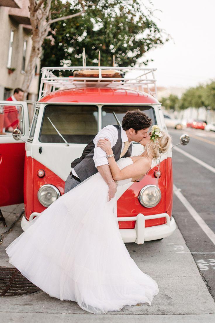 Das Bus - VW Bus Photo Booth - San Francisco Wedding - Melanie Duerkopp Photography
