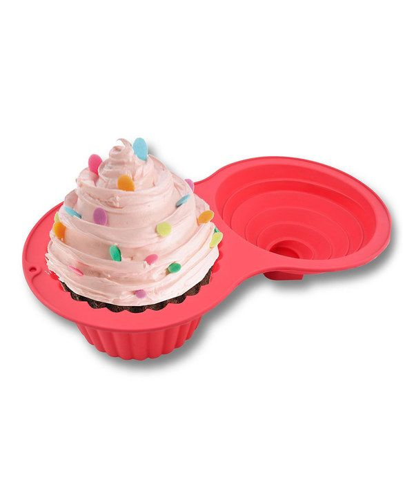 Look at this Sorbus® Jumbo Silicone Cupcake Mold on #zulily today!