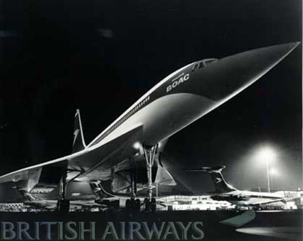 Concorde: B.O.A.C. ~ British Overseas Airways Corporation.