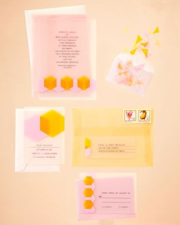 Citrus-Hued Invitation: See Through Stationery, Inspiration Invitations, Wedding Invitations, Vellum Invitations, Citrus Hu Invitations, Invitations Cards, Citrus Inspiration, Vellum Envelopes, Citrushu Invitations