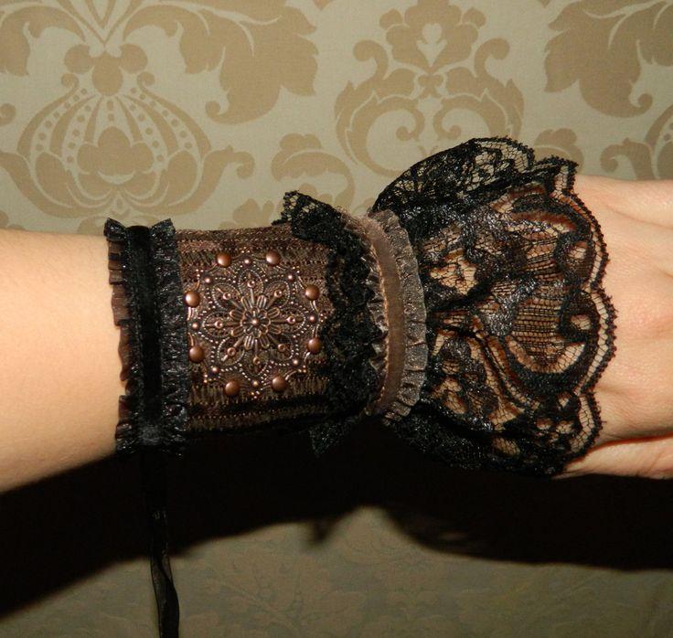 Victorian Gothic Steampunk Wrist Cuff