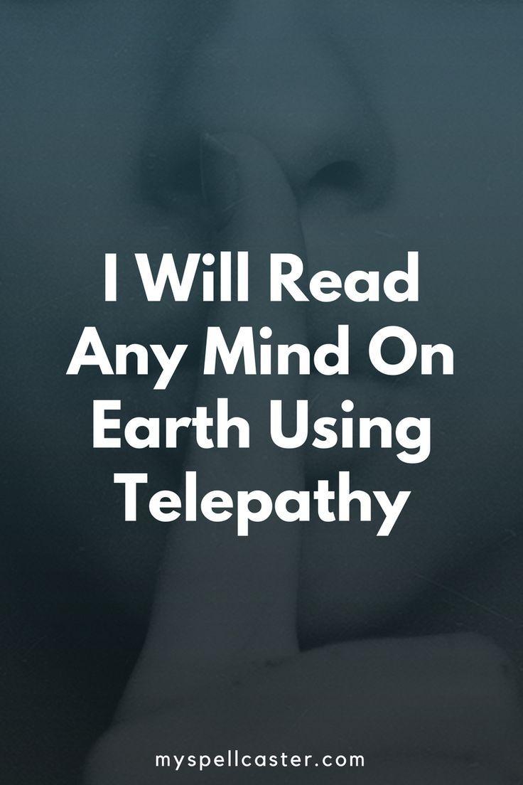 Mind Reading Telepathy, White Spell | Spiritual things | Spell