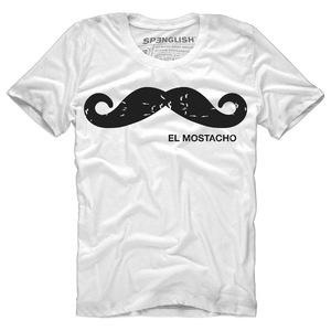 Herren-Shirt El Mostacho Rundkragen - Simon Guindi Cohen