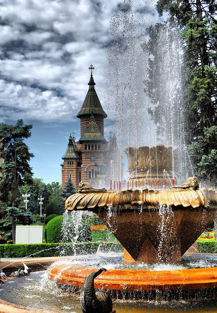 Timisoara, Timis, Romania.  One of those places I haven't been to, but would love to see!