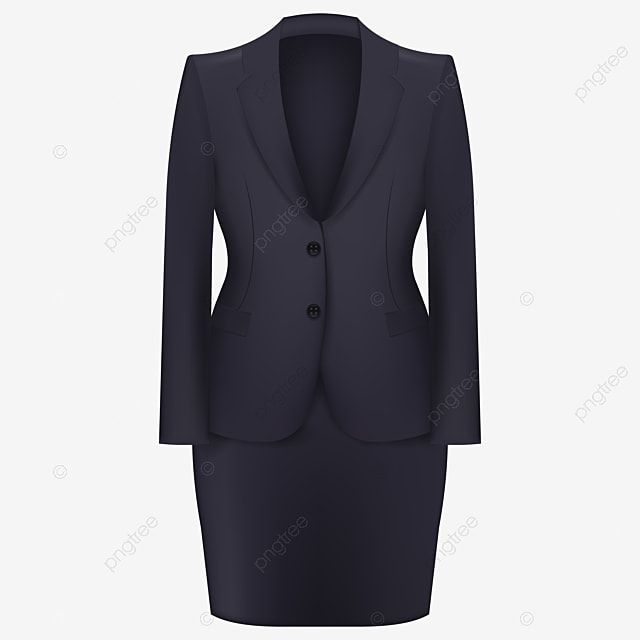 Corporate Woman Formal Suit Skirt Blazer Corporate Dress Code Lifestyle Elegant Black Jacket Png And Vector With Transparent Background For Free Download Di 2021 Wanita Set Pakaian Setelan