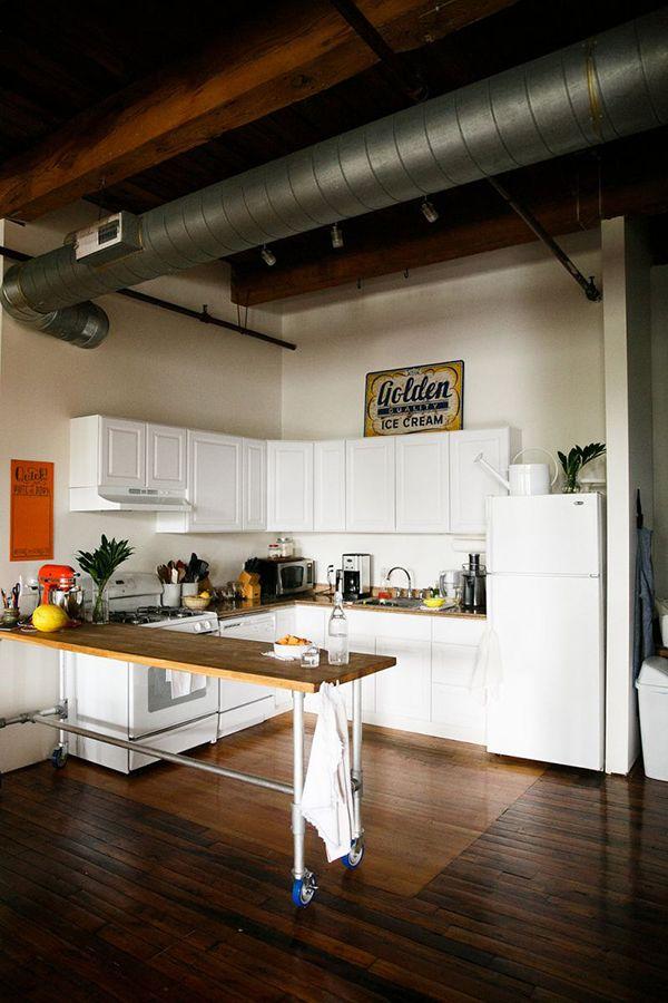 heimchen zuhause chicago wohnung chicago lofts ferienwohnung ideen loft design industrieboden industriellen stil rustikalen stil - Interieur Mit Rustikalen Akzenten Loft Design Bilder