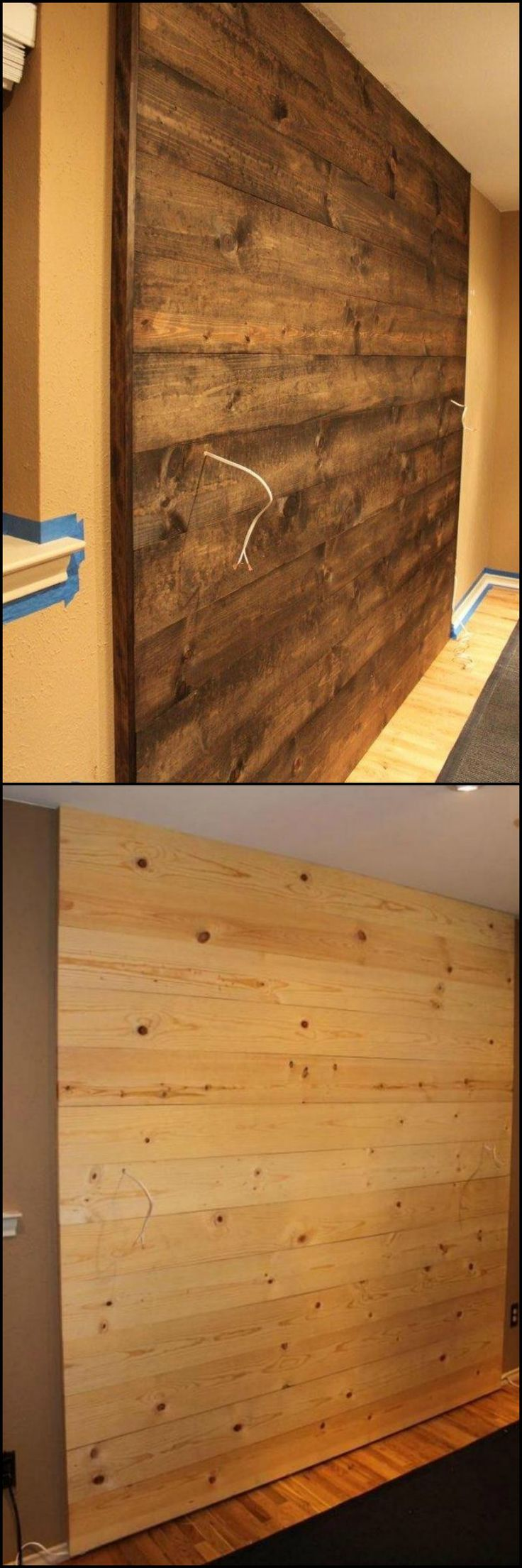 How To Build A Wood Wall Accent http://theownerbuildernetwork.co/khvj Whether you use it in the bedroom, bathroom or living areas, this accent wall project will give your home a slightly rustic feel.