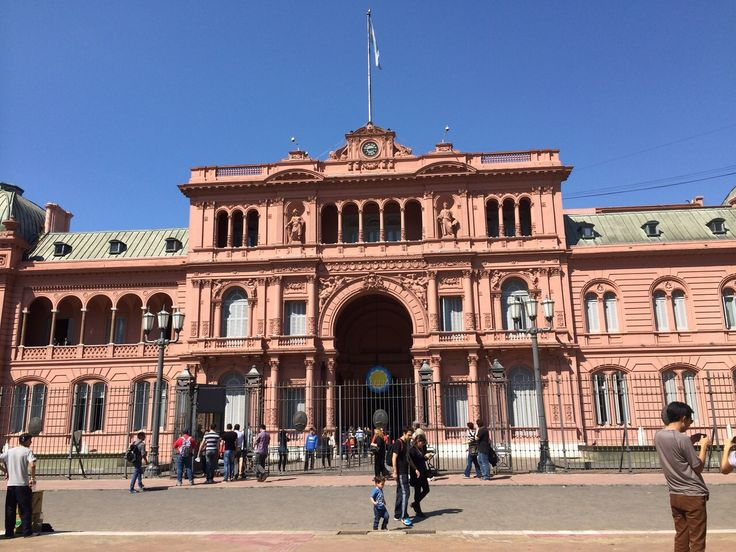 Pink House Where President of Argentina lives #Pink House ...