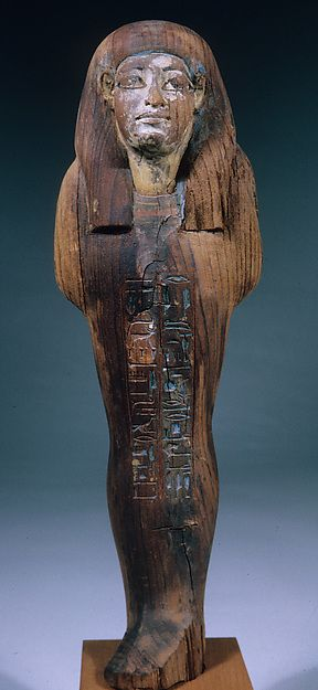 Osiride Figures Presented by the King to His Foster Brother | New Kingdom Dynasty 18reign of Amenhotep II Date:ca. 1427–1400 B.C.  | The Met