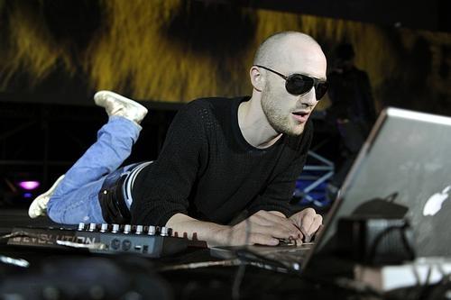 Paul Kalkbrenner performing in Berlin.