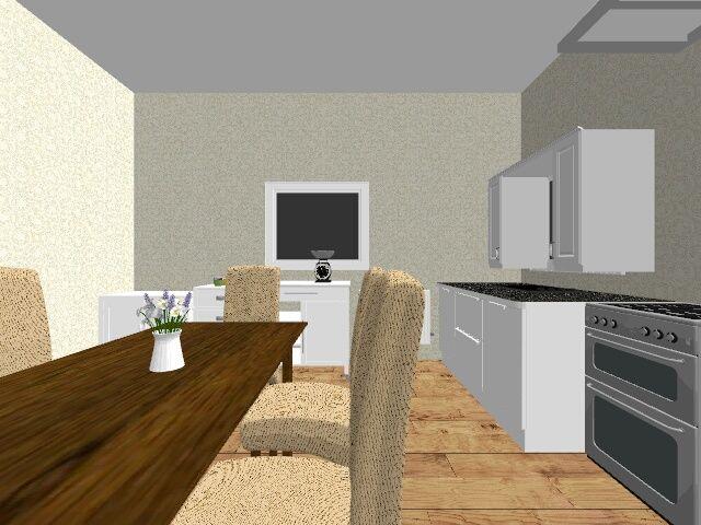 KICHEN - 3D design by alexandra alexia skantzi