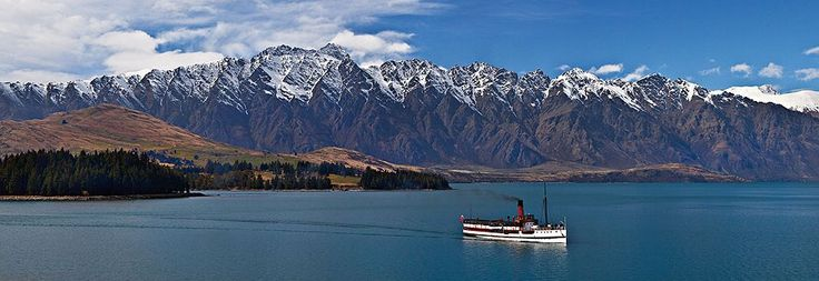 The Lady of the Lake - the TSS Earnslaw