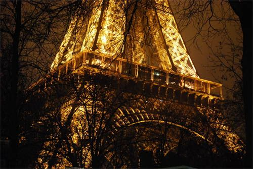 Great view of the Eiffel Tower