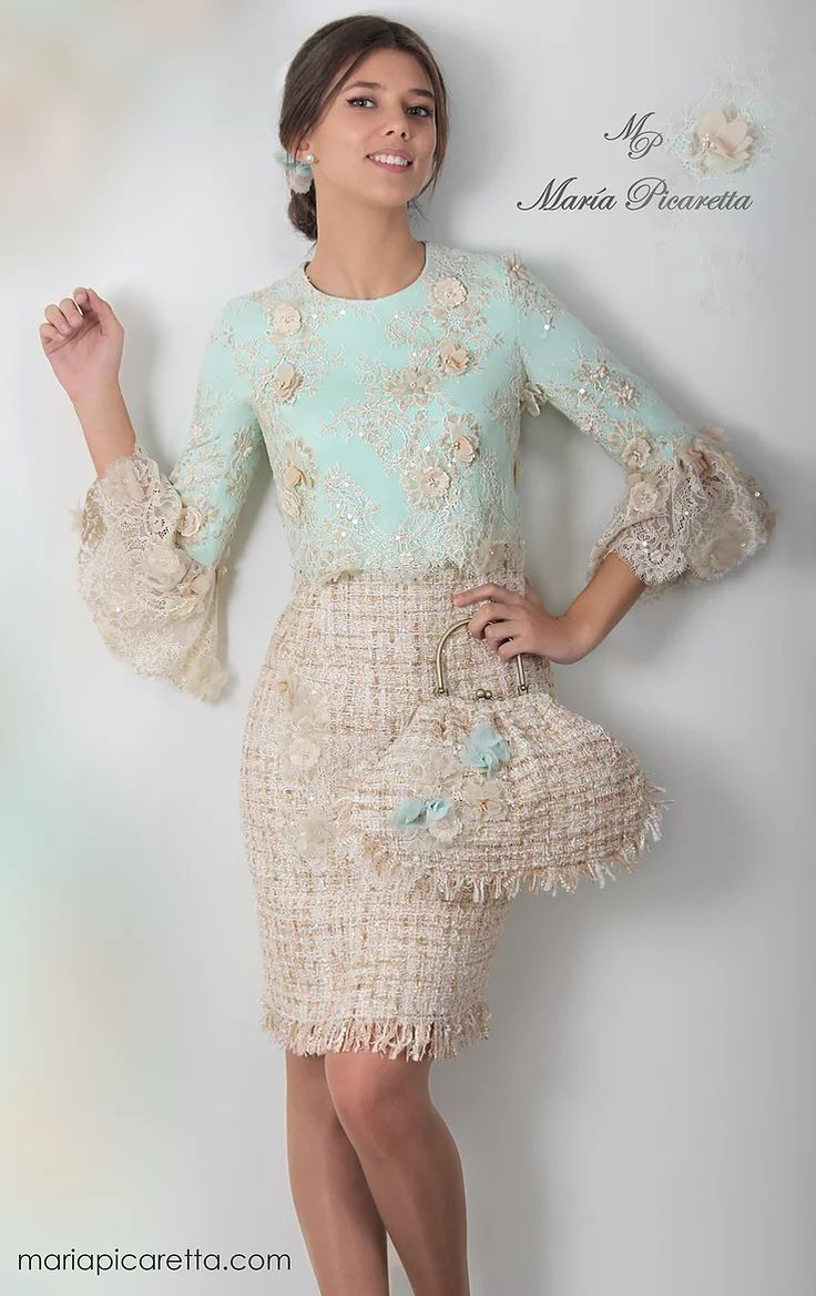 1000 ideas sobre vestidos madre comunion en pinterest - Moda para boda ...