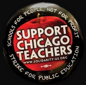Schools for people, not for profit!!! Support the Chicago-teachers-strike. Educate yourself on the issues.