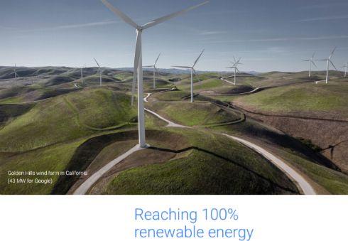"""Google、2017年中に""""全社100%再生可能エネルギー""""を実現へ"""