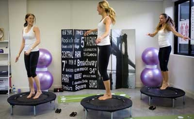 Bounce Latihan Melambung untuk Tingkatkan Kebugaran