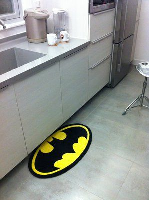Batman Rug - do I pin this to the nerd board or the home board....