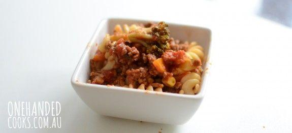 spag bol with veg