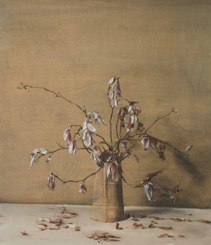 Artist Michael Borremans (Belgian: 1963) - Magnolias, 2012