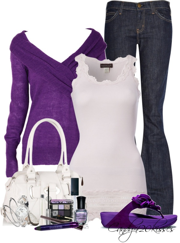 """purples"" by candy420kisses on Polyvore"