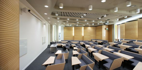 burwell deakins : projects : loughborough design school
