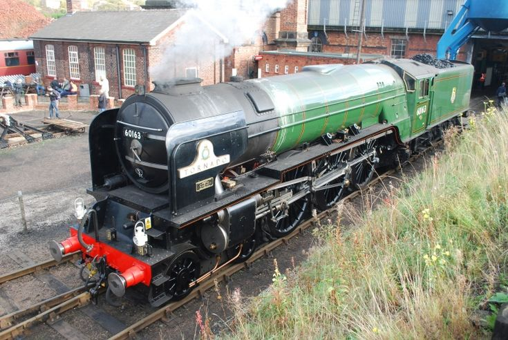 Railway Herald :: Imaging Centre :: 60163 at Barrow Hill Shed
