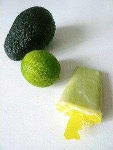 avocado softijs met honing, heerlijk romig ijs zonder zuivel