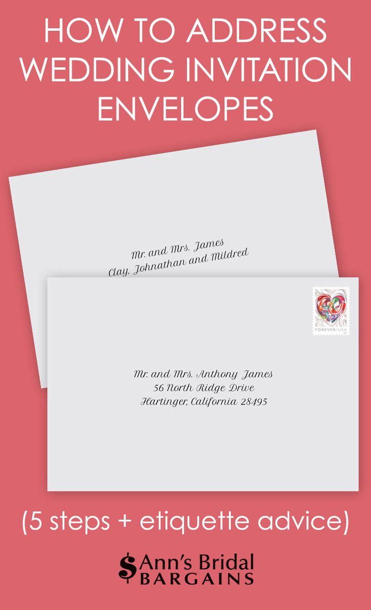 81+ [ How Do You Address Envelopes For Wedding Invitations ...