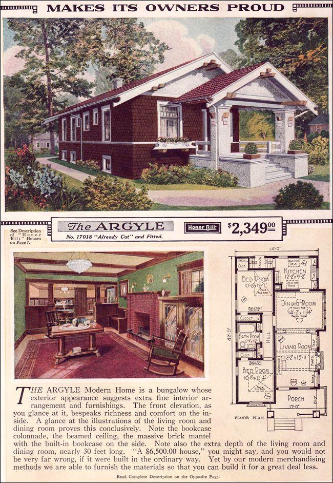 136 best Vintage house plans images on Pinterest | Vintage houses ...