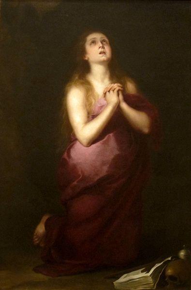 Bartolomé Esteban Murillo, Mary Magdalene, 1650-1655