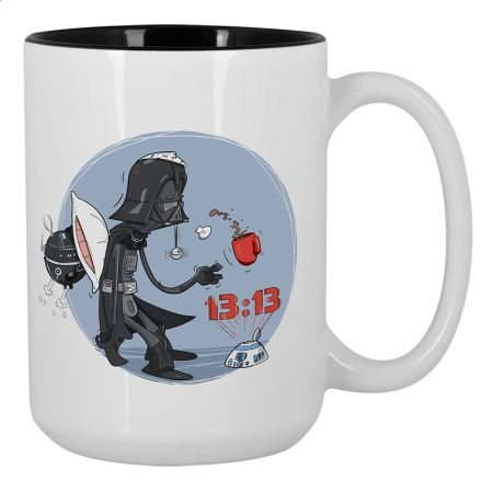 Wake up, Darth! Large Mug 450ml Design by Konrad Rysuje | Teequilla | Teequilla