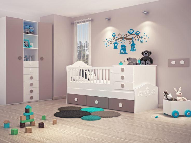 Cunas funcionales para el cuarto de tu bebé de Noray Kids Noray ...