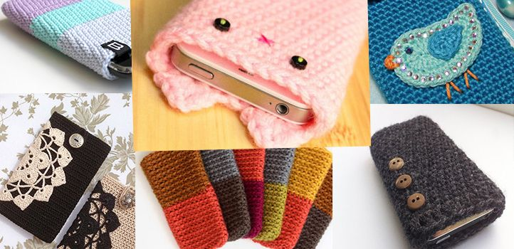 Telefoonhoesje haken (ook handig voor tablet of laptophoes)