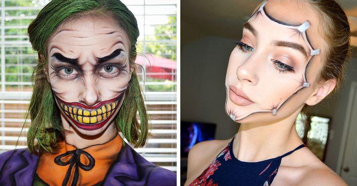 Kate Werner es una chica de 15 años con una gran capacidad de creatividad ha desarrollado maquillajes de fantasía inspirados en cómics que son sorprendentes