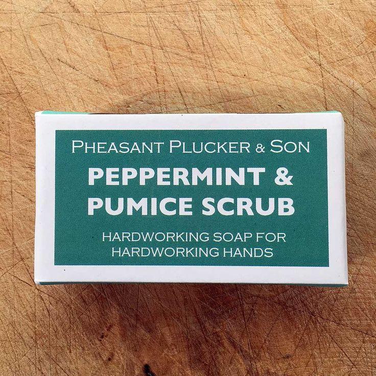 Peppermint and Pumice Scrub