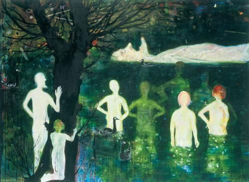 Still - Daniel Richter - New European Painting, 2002
