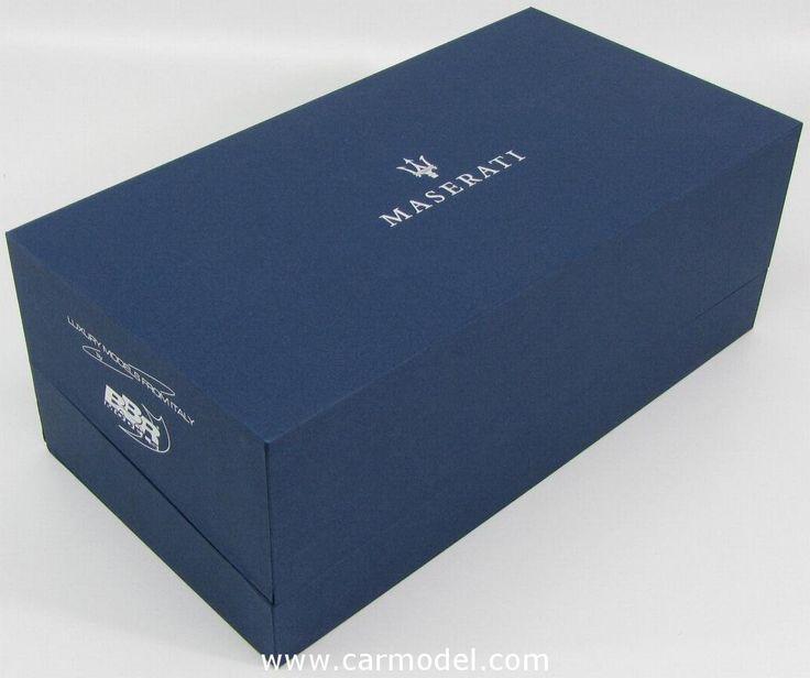 BBR-MODELS P1861A 1/18 MASERATI QUATTROPORTE DETROIT PRESS VERSION 2012